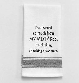 Wild Hare Designs I've Learned So Much From My Mistakes Towel