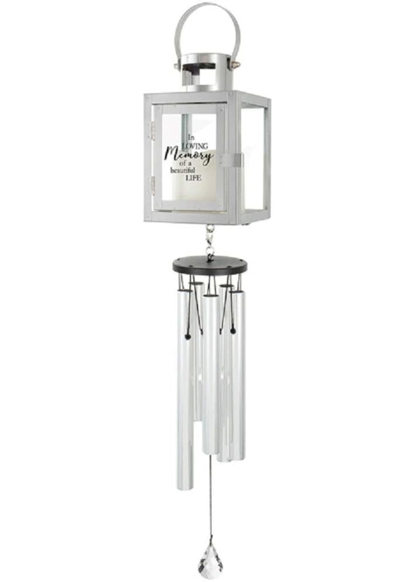 Carson Home Accents Lantern Chime-Beautiful Life