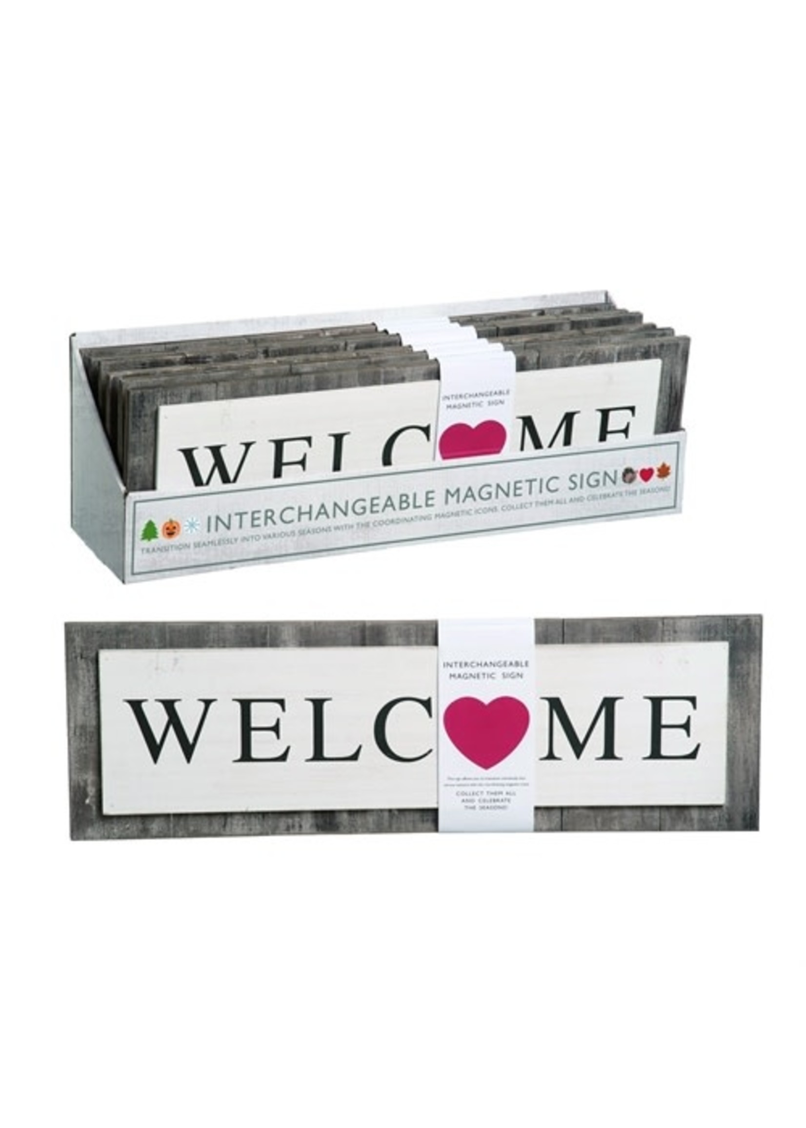 Transpac Interchangeable Welcome Sign