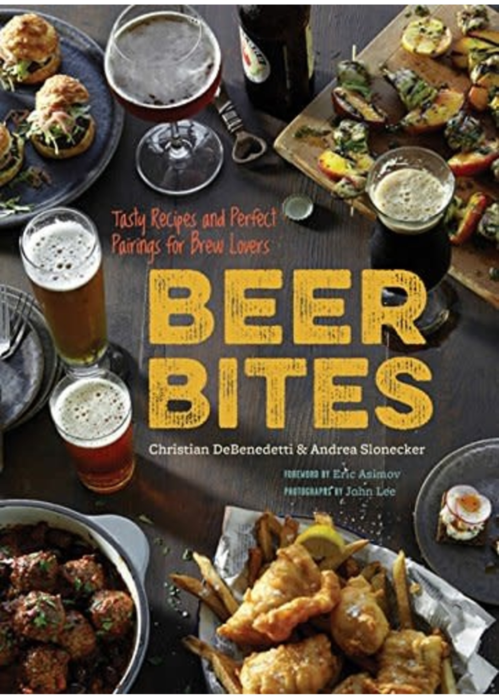 Chronicle Books Beer Bites Cook Book