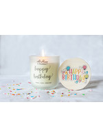 At Home by Mirabeau Happy Birthday Candle