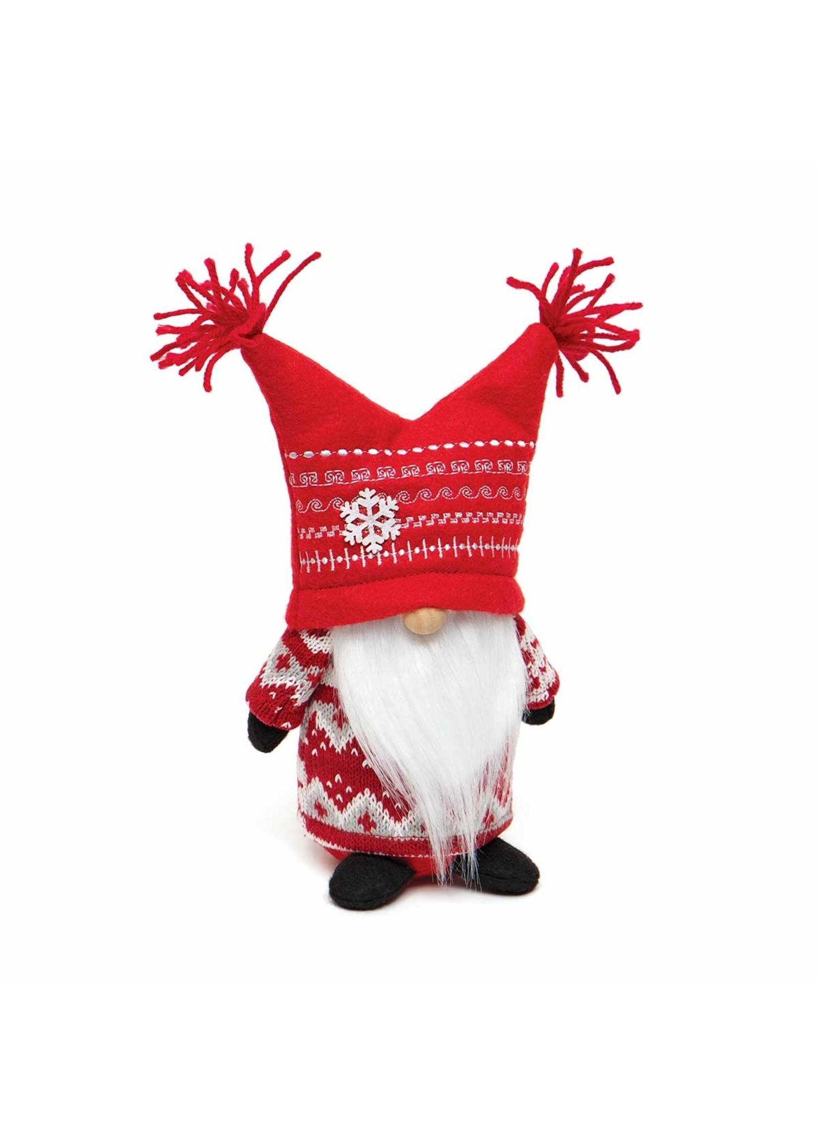 "Meravic Jester Gnome with Tassel Yarn Hat 10"""