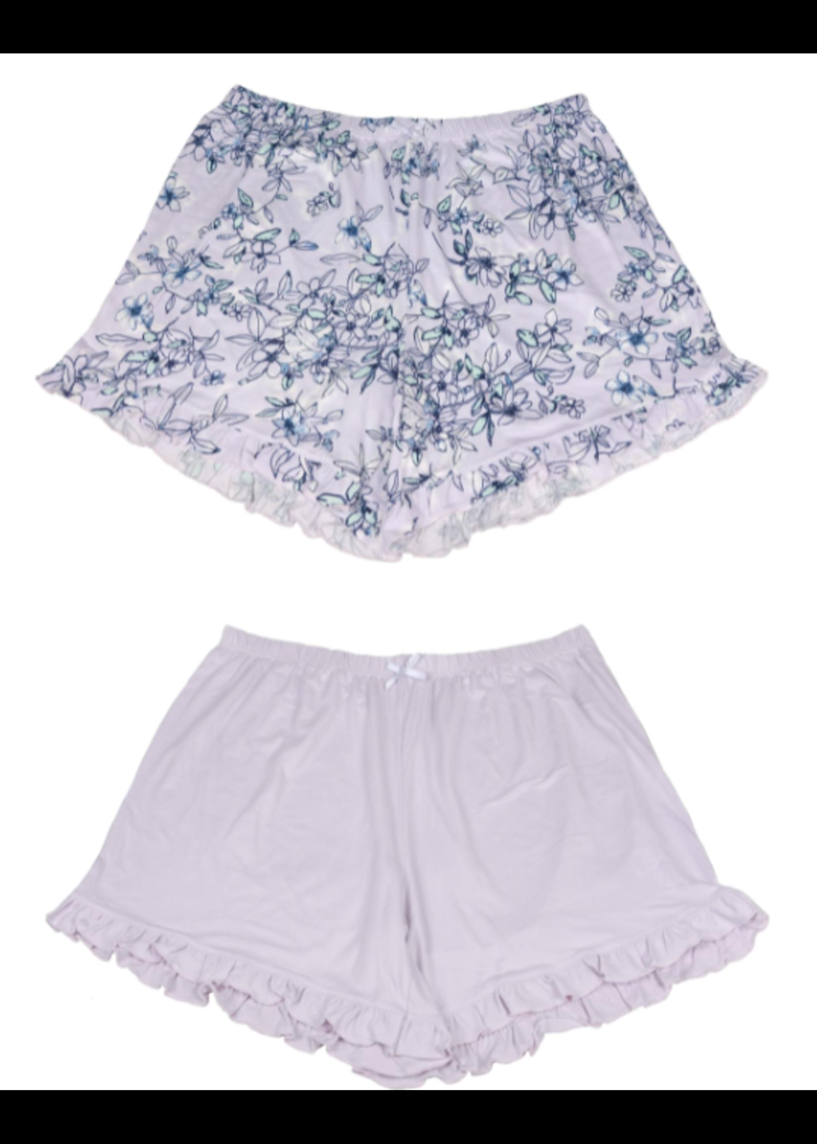 Fashion by Mirabeau Set of 2 Lounge Shorts