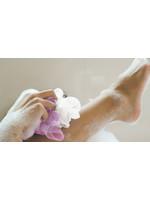 Spa by Mirabeau 2 Piece Set Jumbo Dual Textured Shower Scrunchies