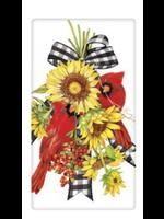 Mary Lake Thompson Cardinal Sunflower Bagged Towel