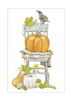 Mary Lake Thompson Pumpkin Chair Bagged Towel