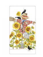 Mary Lake Thompson Sunflower Scarecrow Bagged Towel
