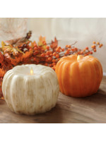 """Opportunities 4.3"""" x 5.8"""" LED Pumpkin Candle"""