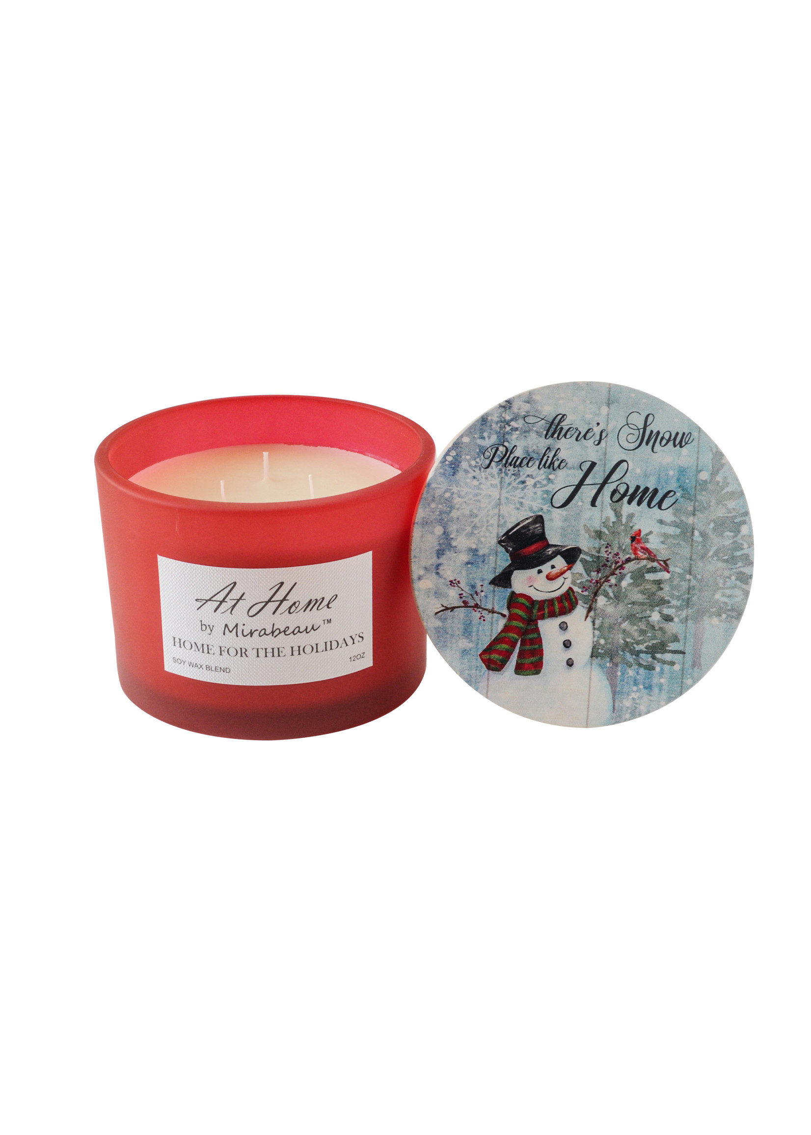 At Home by Mirabeau Holiday Collection Candles