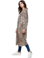 Fashion by Mirabeau Lily Leopard Print Duster