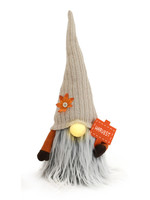 "15"" Plush Fall Gnome with LED Nose"