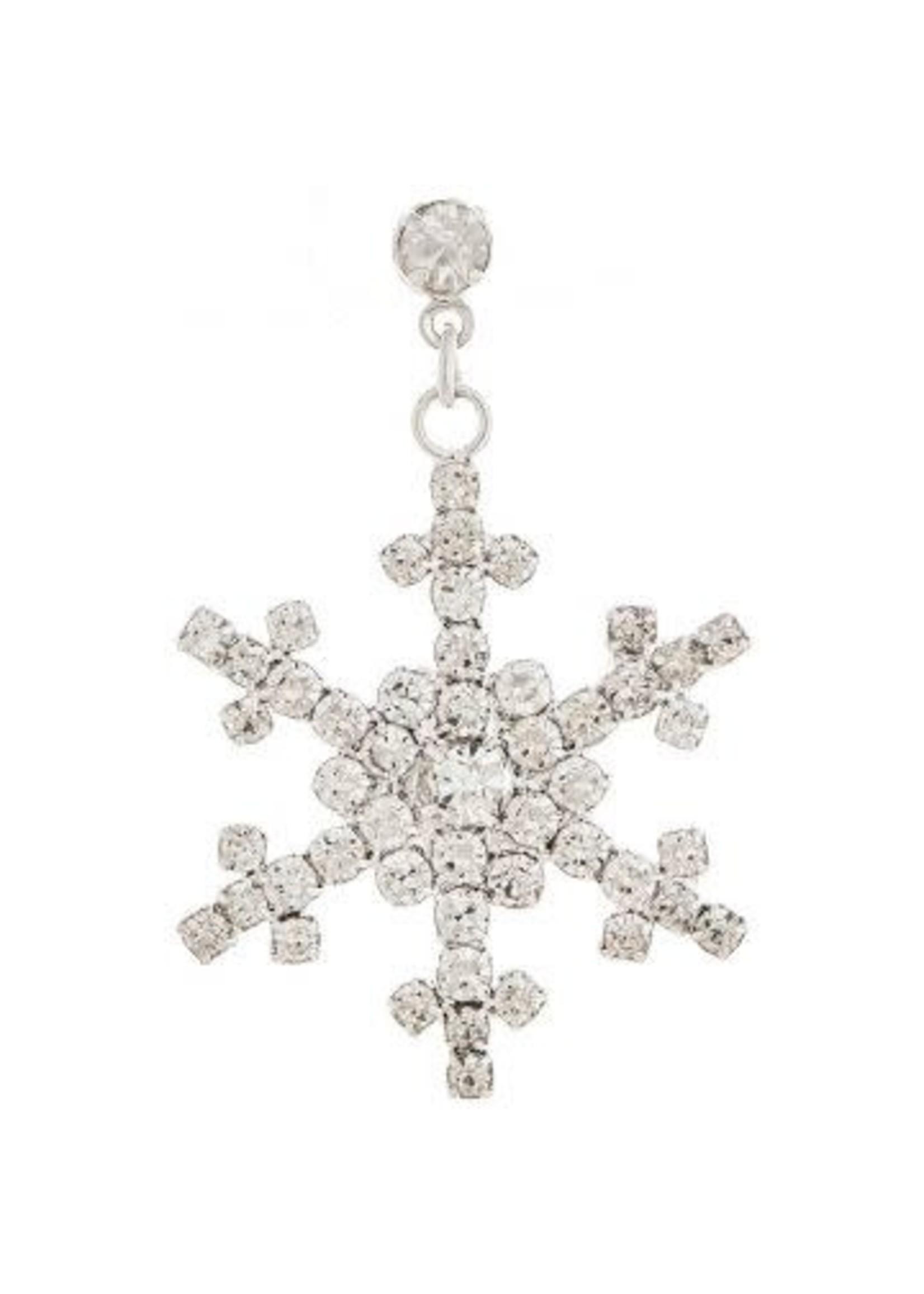 Rain Jewelry Sparkle Snowflake Earrings