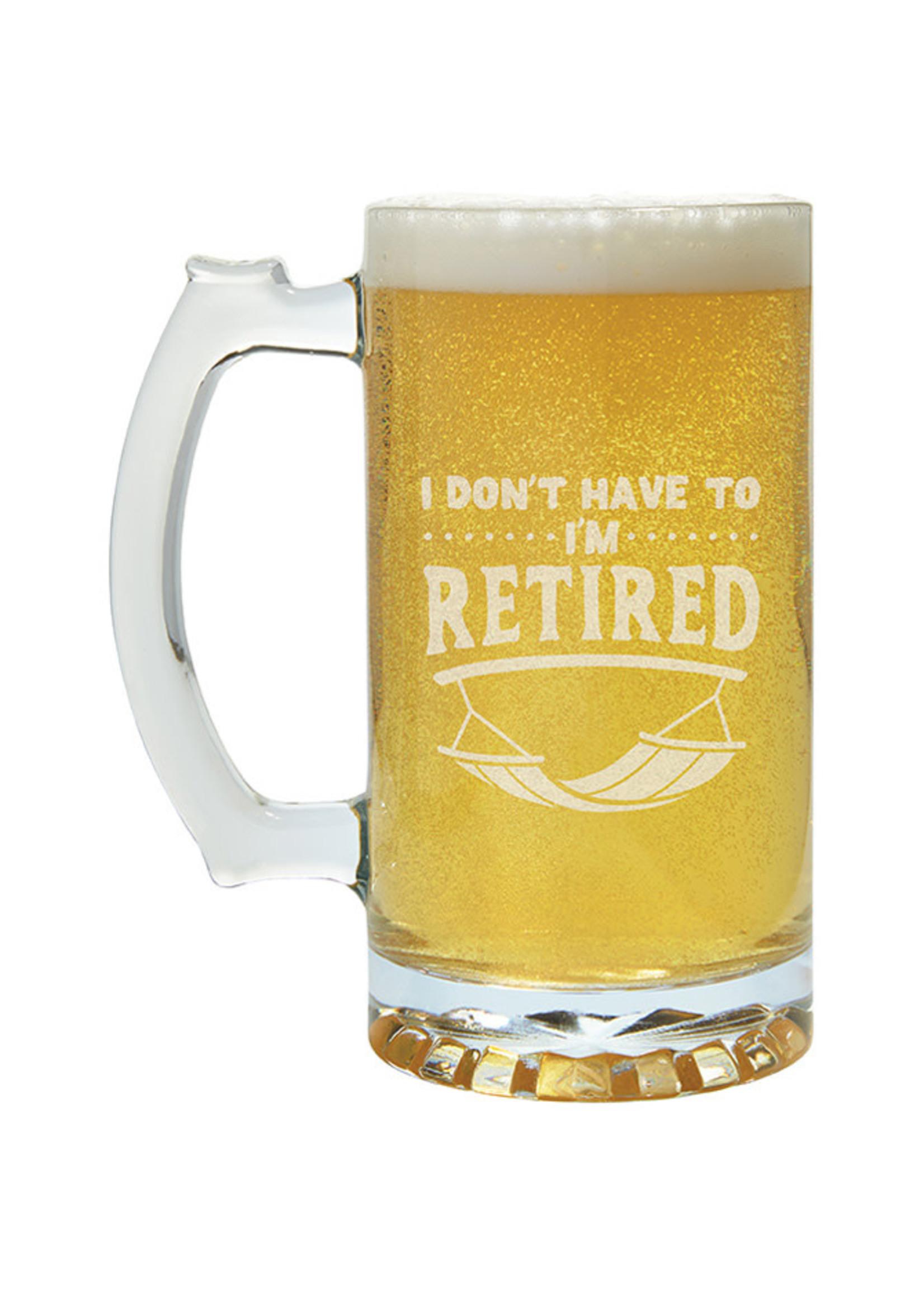 Carson Home Accents Beer Mug 26.5 oz
