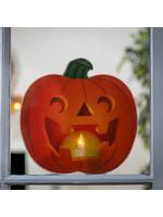 LED Pumpkin Window Cling