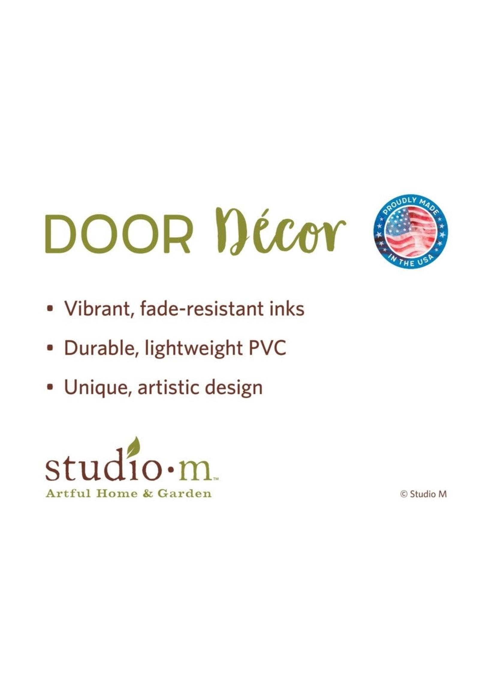 Studio M Christmas Door Decor