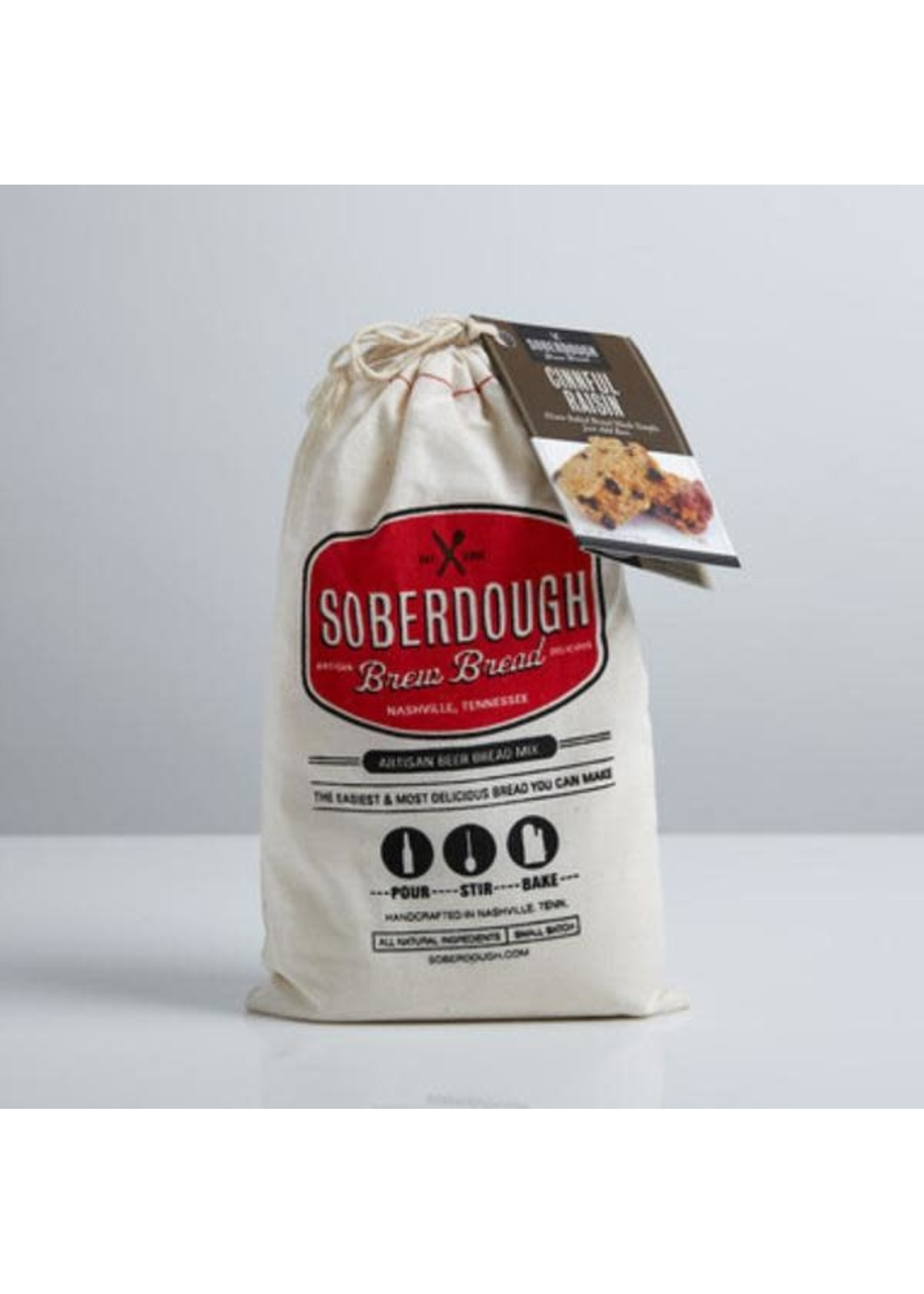 Soberdough Cinnful Raisin Beer Bread