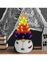 "Opportunities 12.75"" Light Up Ceramic Gnome Halloween Tree"