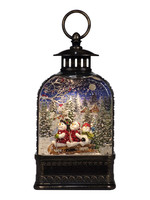 Opportunities Snowmen Dome Glitter Lantern with Sublimation