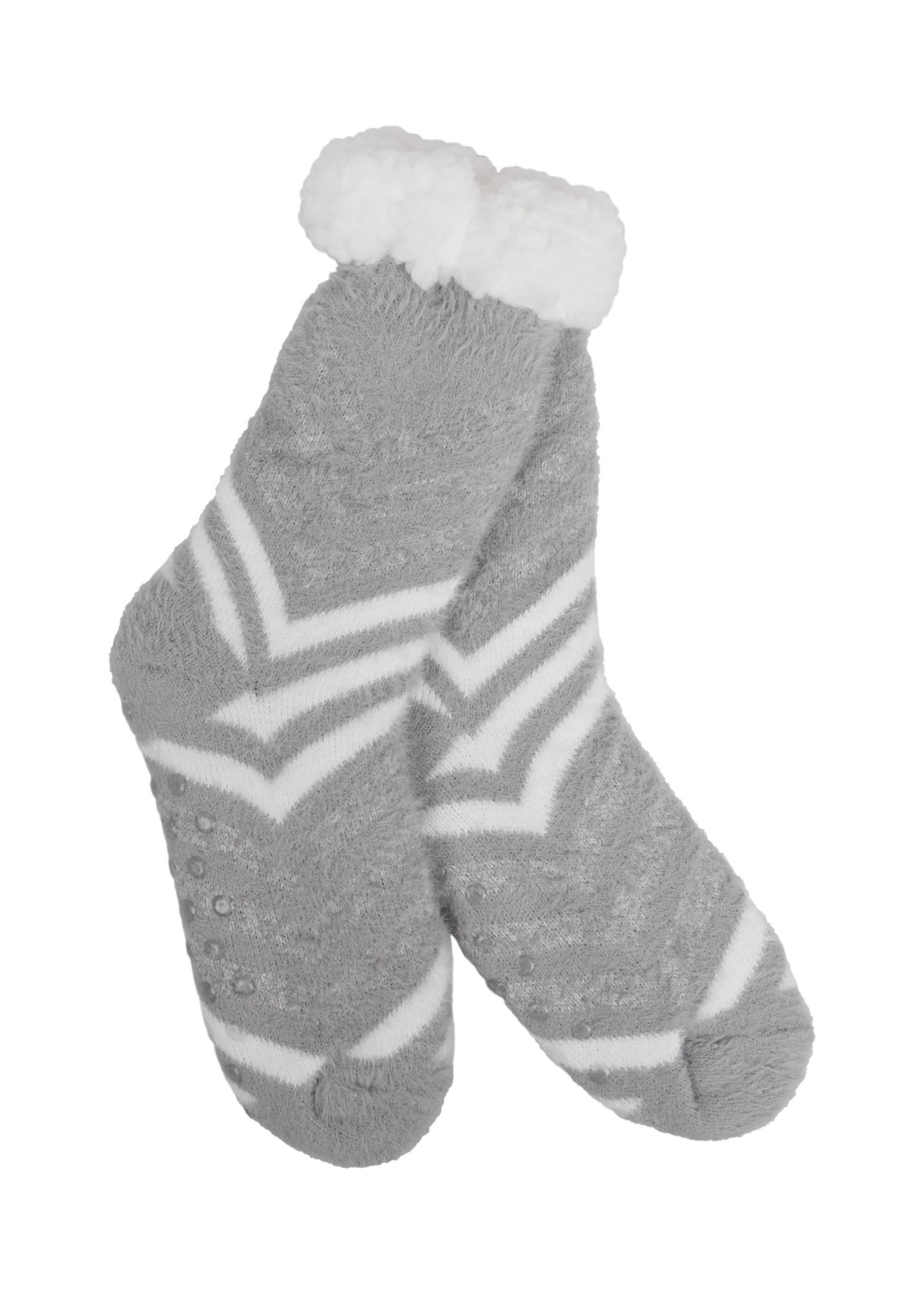 Fashion by Mirabeau Cozy Soft 5th Ave Thermal Slipper Socks