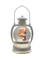 "10.25"" Gnome Glitter Lantern"