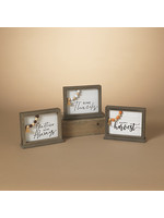Gerson Companies Reversible Harvest & Holiday Table Sign