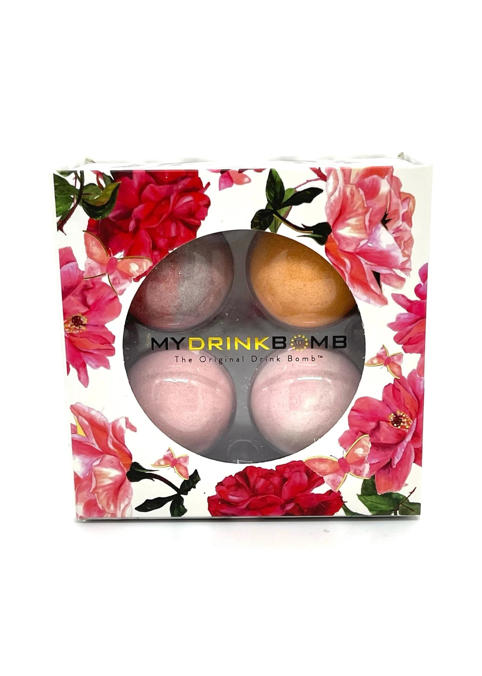 My Drink Bomb Romance Box #2 4 Pack Limited Edition Cocktail Drink Bomb Mix