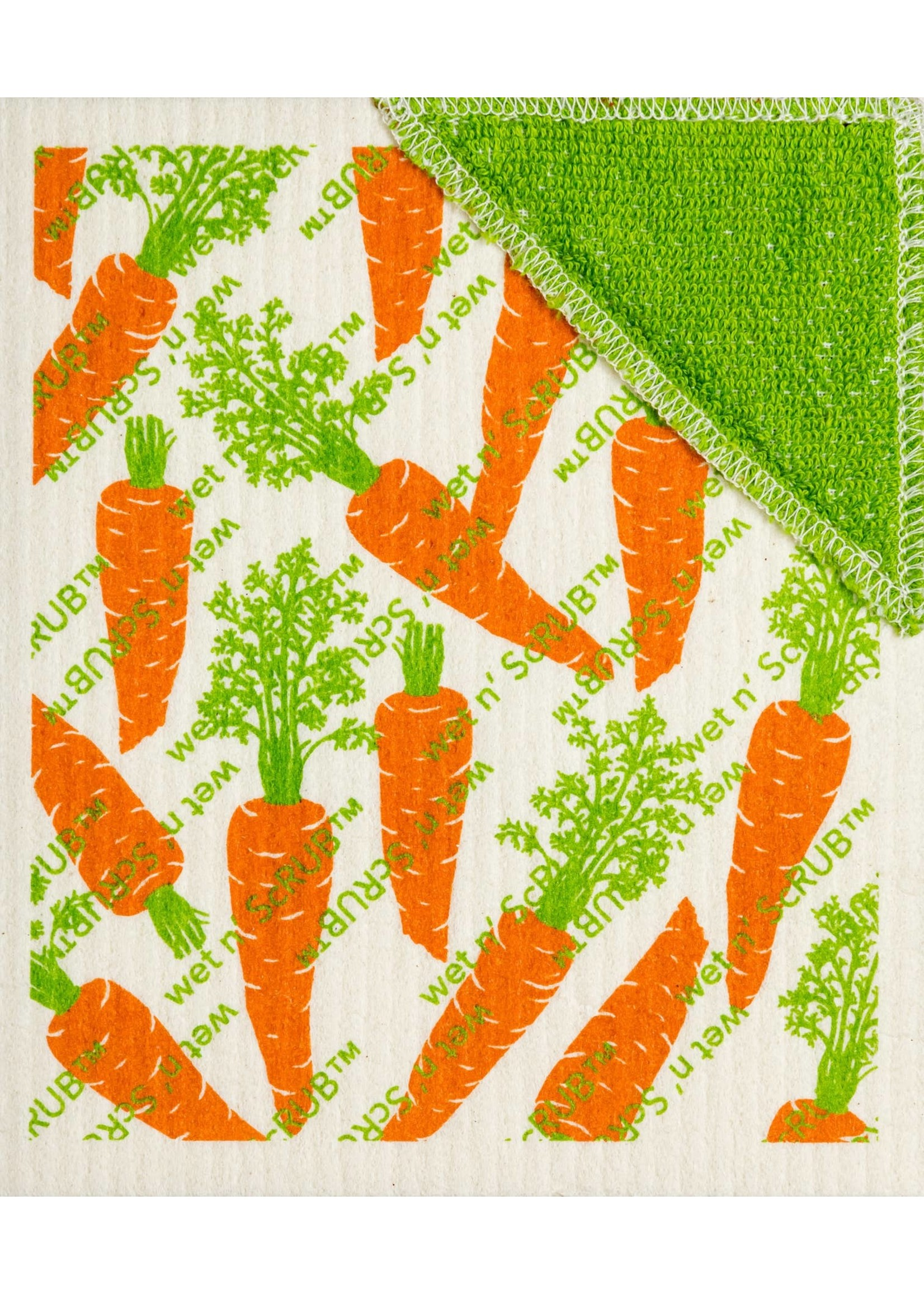 Carrots by Row Wet & ScRUB