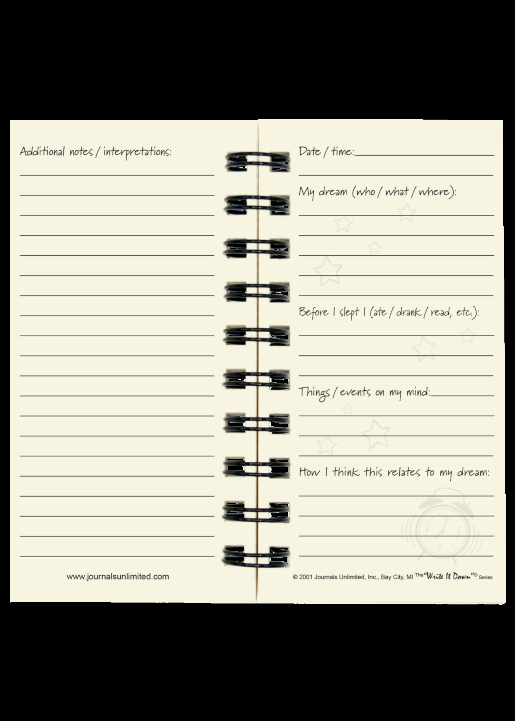 Journals Unlimited Mini - Dream Journal