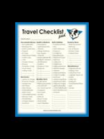 Journals Unlimited Travel Checklist Note Pad