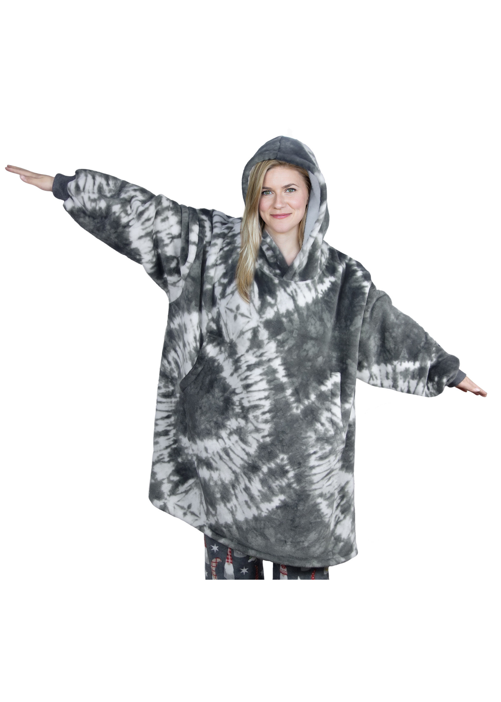 Fashion by Mirabeau Oversized Blanket Pullover