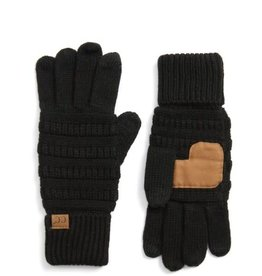 CC Knitted Glove Black