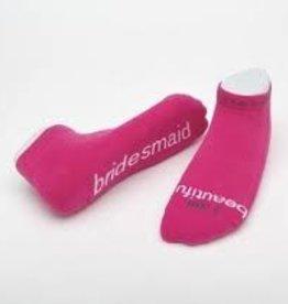 I Am Beautiful-Bridesmaid-Pink-Large