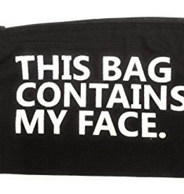 Contains My Face Make-Up Bag Small