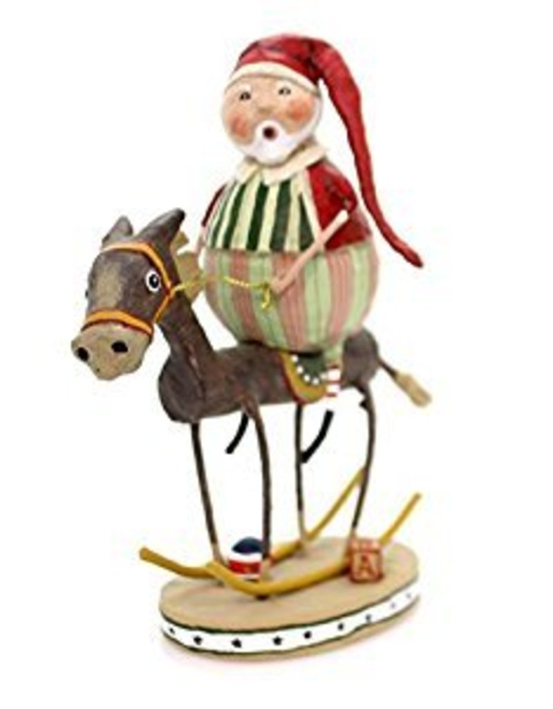 Lori Mitchell Muletide Santa