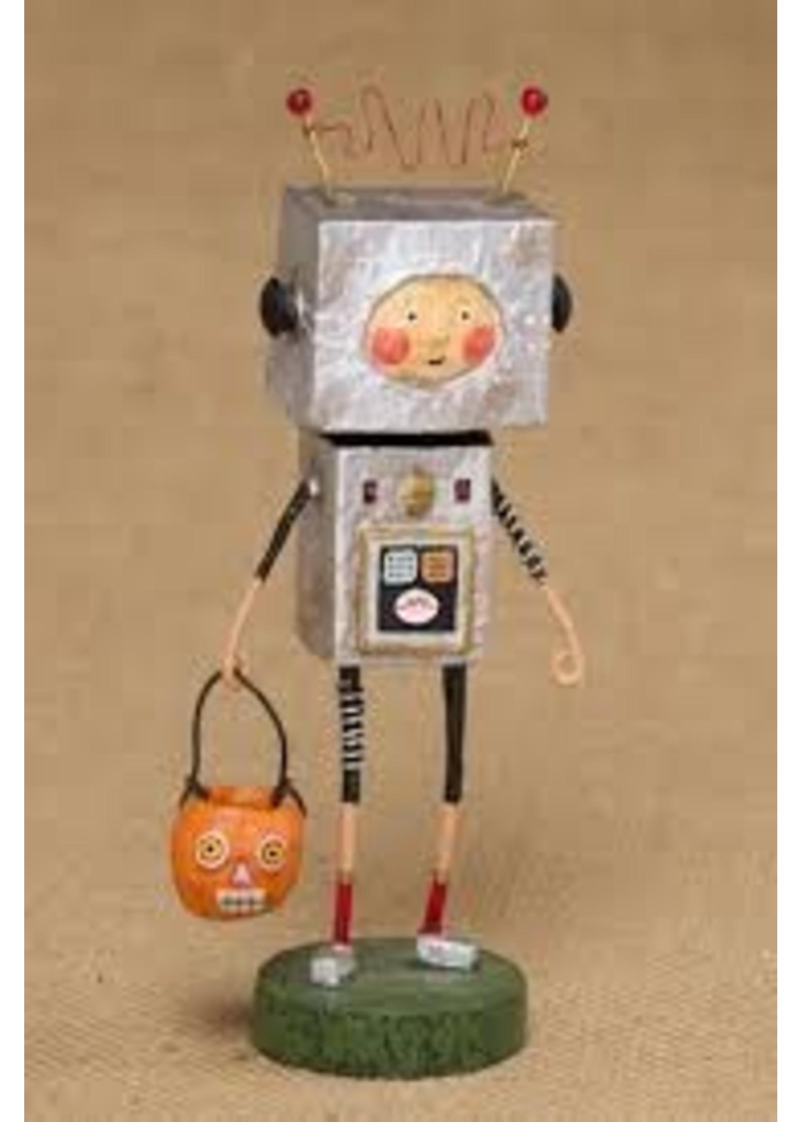 Lori Mitchell Robby Robot