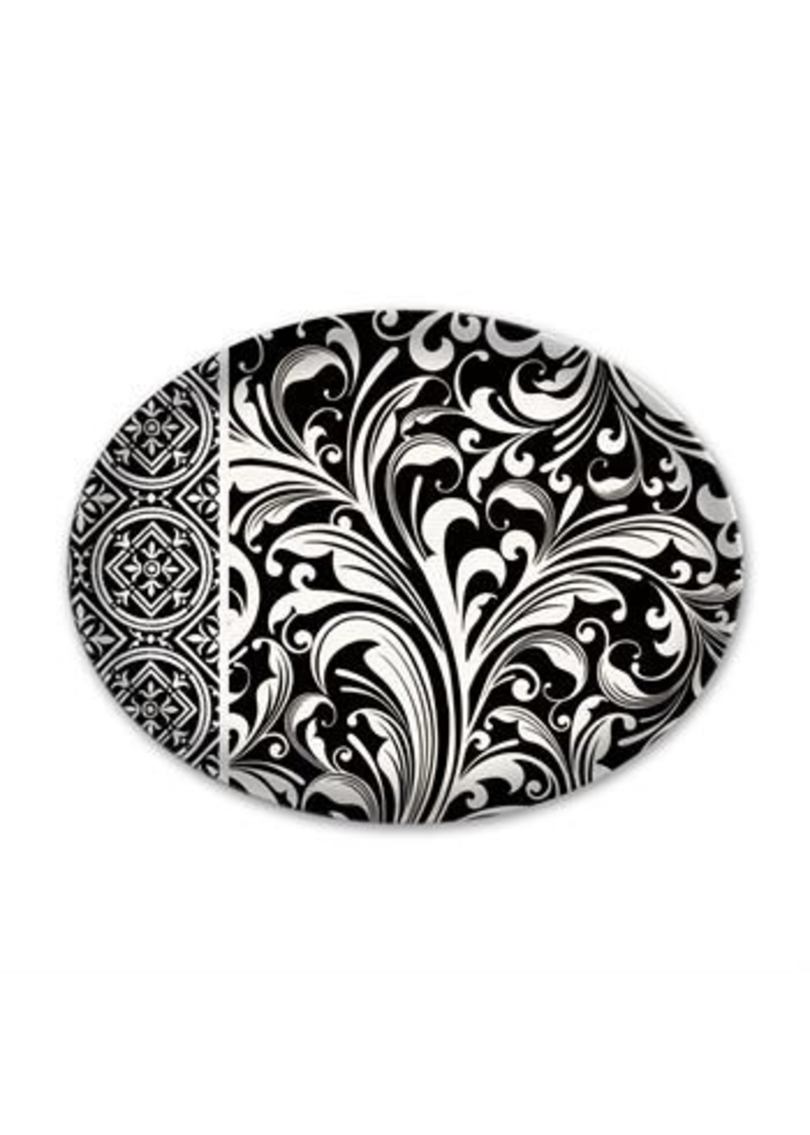 Michel Design Works Honey Almond Glass Dish