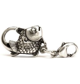 Trollbeads Big Fish Lock, Silver