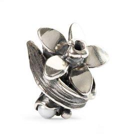 Trollbeads Narcissus of December, Silver & Gemstone