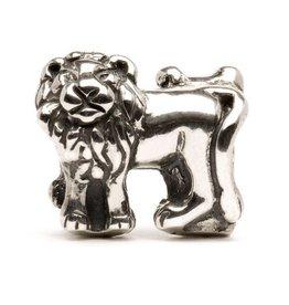 Trollbeads Lions, Silver