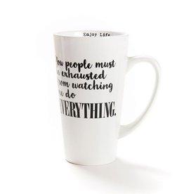 16 oz Exhausted Mug