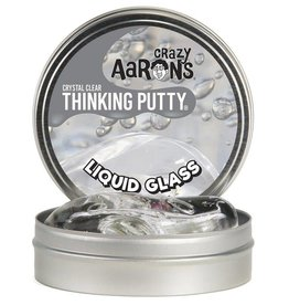 "Crazy Aaron's Liquid Glass Crystal Clear 4"" Tin"