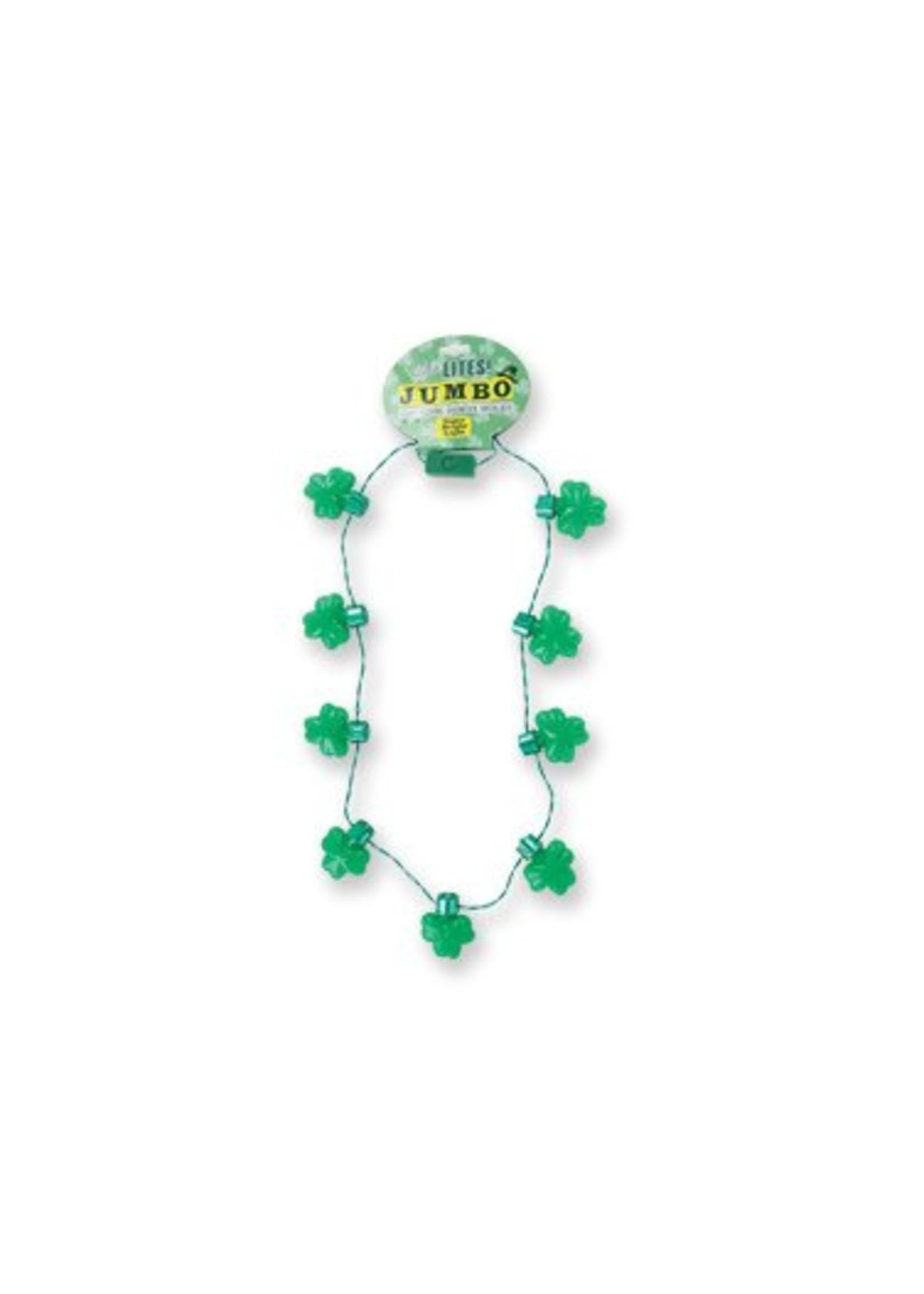 St. Patrick's Jumbo Light Up Necklace