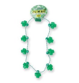 St. Patrick's Jumbo Light Up Necklace