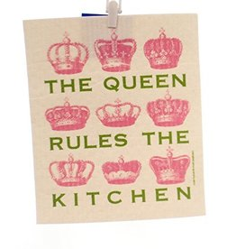 Swedish Dishcloth, Queen-Pink