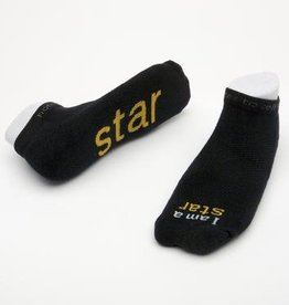 I Am A Star Socks Black Kids S