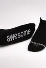 I Am Strong Black Socks Kids S