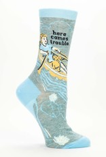 Here Comes Trouble Crew Socks