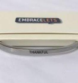 Embracelets Thankful Embracelet Silver