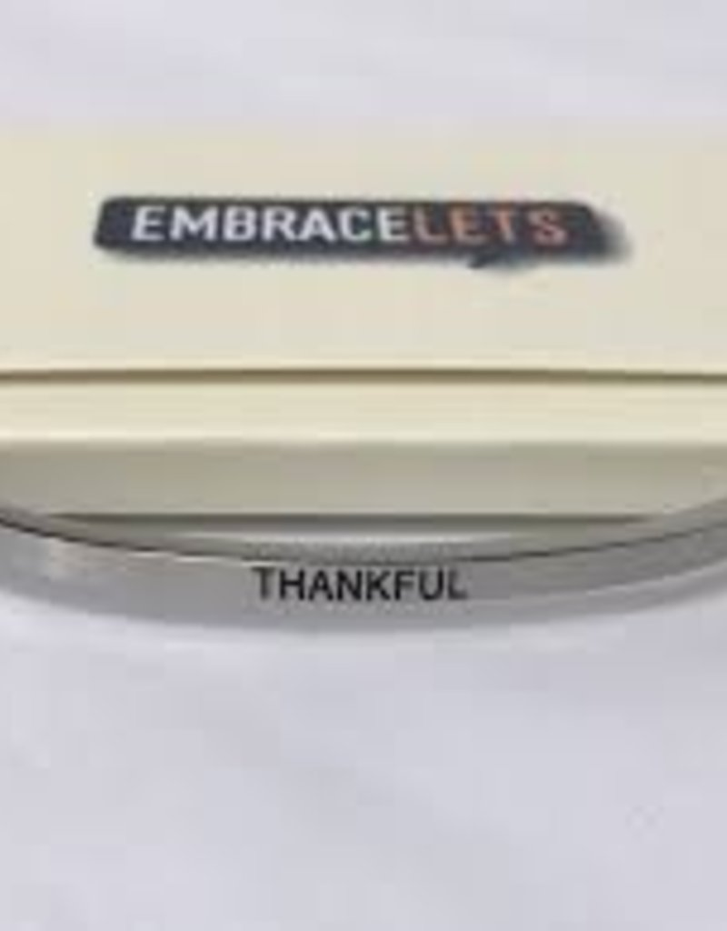 Thankful Embracelet Silver