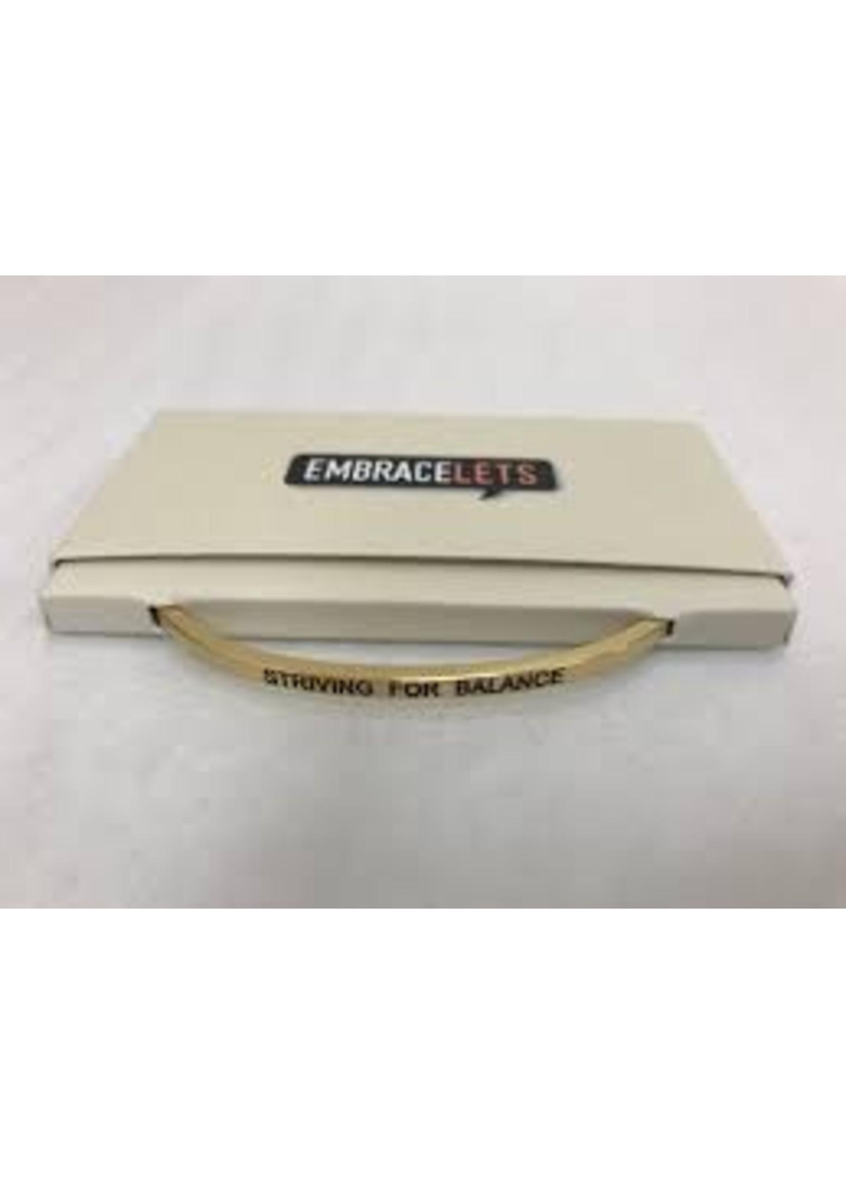Embracelets Striving For Balance Embracelet Gold
